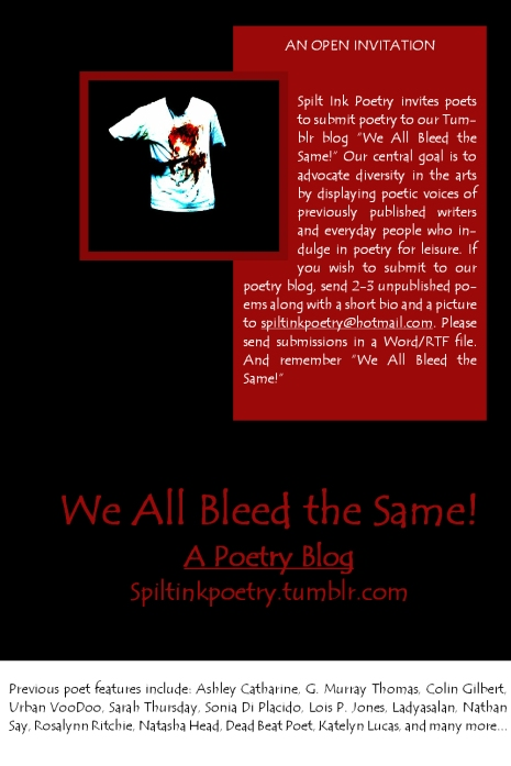 WE ALL BLEED THE SAME